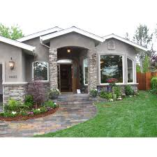grey stone and stucco exterior houses google search highlights