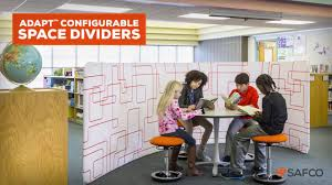 safco adapt configurable space dividers youtube