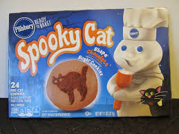 pillsbury halloween cookies spooky cat 2014 package