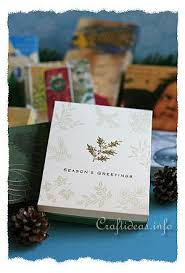 Paper Craft Christmas Cards - craft idea learn how to make a box out of used christmas cards