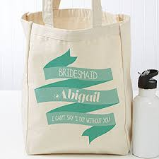 personalized tote bags wedding celebration