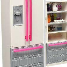 dollhouse furniture full kitchen w fridge cookwares accessories