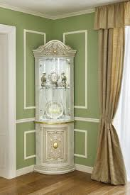 small curio cabinet with glass doors decoration collectible display cabinet with glass door white