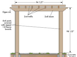 how to build trellis how to build a backyard pergola sunset