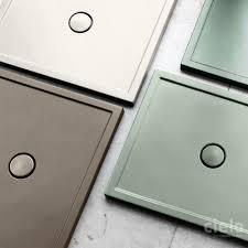 piatto doccia 70x80 ceramica piatti doccia colorati di design ceramica cielo