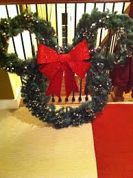 Easy To Make Christmas Decorations For Outside by Diy Mickey Mouse Outdoors Christmas Wreath Plan To Hang This On
