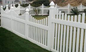 loading vinyl picket fence on a slope u2013 outdoor decorations