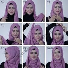 simple hijab styles tutorial segi empat pin tillagd av najwa khaira wilda på tutorial hijab pinterest