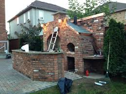 Pizza Oven Fireplace Combo by Outdoor Brick Bbq And Pizza Oven Our Home Decor Pinterest