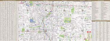 Map Denver Colorado by Denver Map By Vandam Denver Streetsmart Map City Street Maps