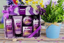 Bath And Body Gift Sets Purple Lavender Set Besthope Besthope Household Products Bath Gift