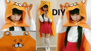 Hamster Halloween Costume Diy Hamster Hoodie Cloak Cape Inspired Umaru Chan Halloween