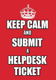 meme maker keep calm and submit a helpdesk ticket