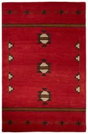 Area Rugs Southwest Design Mocha Brown 8 U0027 X 10 U0027 Area Rug Expressions Collection Furniture
