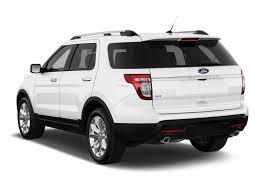 Ford Explorer 2014 - image 2014 ford explorer fwd 4 door xlt angular rear exterior