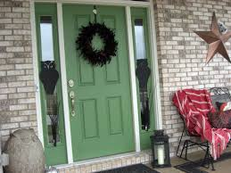 a painted door and a little halloween decorating laurie jones home