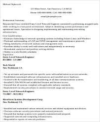 resume sample network engineer professional resumes sample online