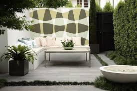 inspiring courtyard garden design in contemporary garden style
