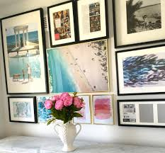 how to create a gallery wall and where to find affordable art