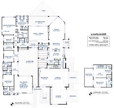 Mother In Law Quarters Floor Plans Modern Style House Plan 5 Beds 5 50 Baths 7380 Sq Ft Plan 466 10