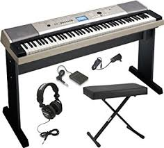 Yamaha Piano Bench Adjustable Amazon Com Yamaha Ypg 535 88 Key Digital Piano W Knox Adjustable