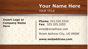 microsoft works business card templates microsoft office business