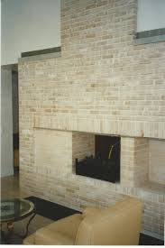 brick fireplaces gray masonry