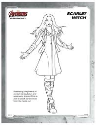 marvel avengers scarlet witch printable coloring mama likes
