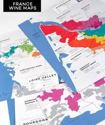paso robles winery map regional wine map of central coast ca usa wine posters