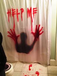 scary decorations decorations bathroom to scare away your guests