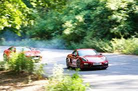 porsche cayman comparison comparison porsche cayman gts versus jaguar f type coupe autocar