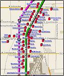 las vegas blvd map i 15 las vegas traffic maps and road conditions