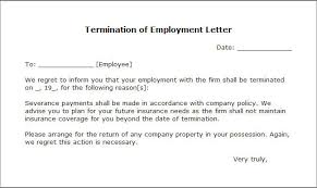 Kindergarten Cancellation Letter letter of termination template business