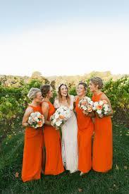 best 25 orange bridesmaids ideas on pinterest orange bridesmaid