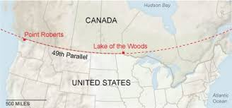 map us states bordering canada the not so story of the u s canadian border the new