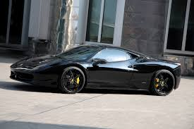 replica ferrari 458 italia ferrari 458 black carbon edition by anderson germany goes to the