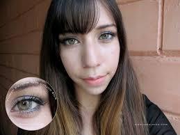 vassen rainbow eyes grayish blue review makeup tutorial