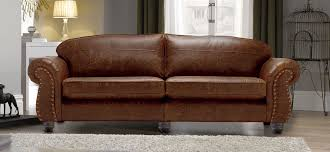 Burlington Large Leather Sofa SofaSofa Official - 4 seat leather sofa