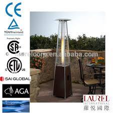 Flame Patio Heater Restaurant Decorative Pyramid Type Flame Lpg Gas Patio Heater