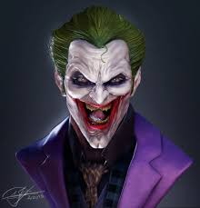 artstation the joker andy chin