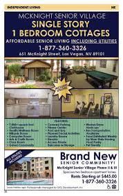 1 bedroom apartments in las vegas nevada senior guide mcknight senior village las vegas nevada