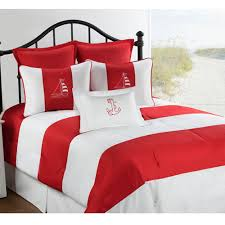 Nautical Bed Set Victor Mill Regatta Nautical Comforter Or Duvet Cover Bed Set
