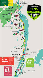 Washington New York Map by George Washington Bridge Closures For Gran Fondo Ny Bike Race