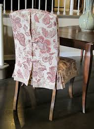 Diy Dining Room Chair Covers The 25 Best Dining Chair Slipcovers Ideas On Pinterest Dining