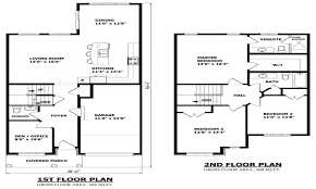 simple small houseor plans garage two story single