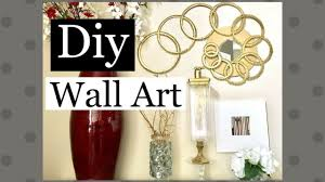 diy wall art home decor using regular items along with dollar tree