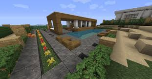 Plan Minecraft Maison by Minecraft Modern House Map 1 8 1 7 10 1 7 2 1 6 4 Minecraft