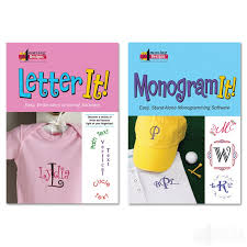 Letter Monogram Letter It And Monogram It Combo