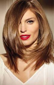 best medium length hairstyles for a round face contemporary