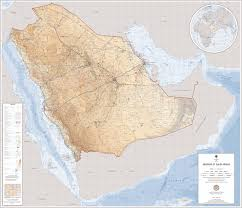 arabia map large detailed map of saudi arabian with cities and towns
